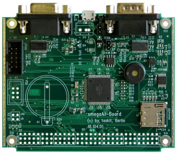 xmegaA1 board interface description